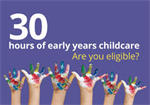 Today the Department for Education (DfE) is launching a campaign to raise awareness of the benefits of 30 hours free childcare